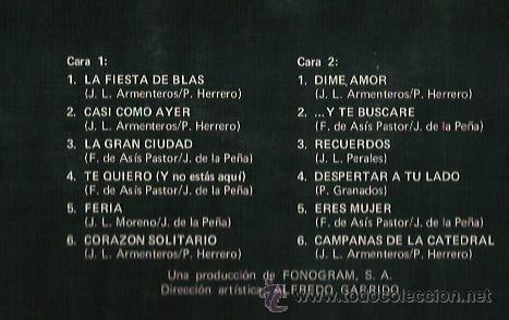 Discos de vinilo: FORMULA V LP SELLO PHILIPS AÑO 1974 - Foto 2 - 40733015