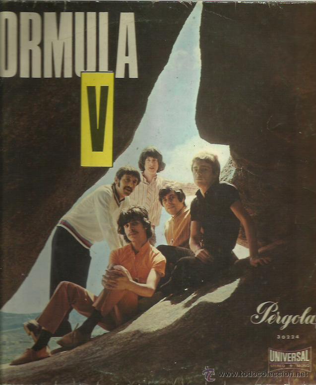 FORMULA V LP SELLO PERGOLA 10 PULGADAS AÑO 1969 (Música - Discos - LP Vinilo - Grupos Españoles 50 y 60)