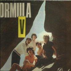 Discos de vinilo: FORMULA V LP SELLO PERGOLA 10 PULGADAS AÑO 1969. Lote 40733031