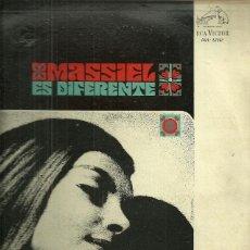 Discos de vinilo: MASSIEL LP SELLO RCA VICTOR EDITADO EN URUGUAY. Lote 40733470