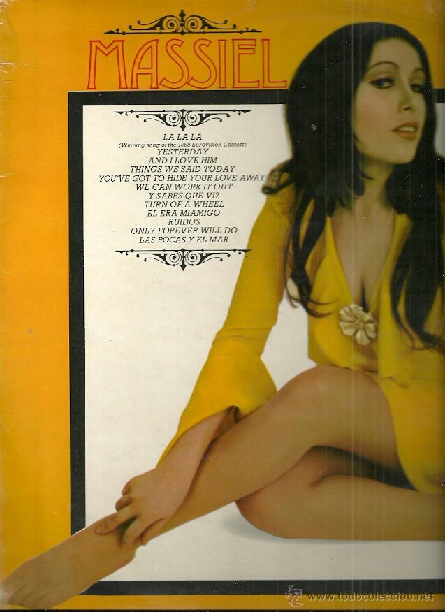 MASSIEL CANTA EN INGLES LP SELLO PHILIPS EDITADO EN INGLATERRA (Música - Discos - LP Vinilo - Solistas Españoles de los 50 y 60)
