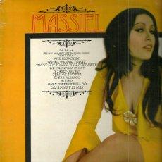 Discos de vinilo: MASSIEL CANTA EN INGLES LP SELLO PHILIPS EDITADO EN INGLATERRA. Lote 40733513