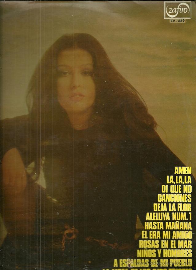 MASSIEL LP SELLO ZAFIRO AÑO 1972 EUROVISION 68 (Música - Discos - LP Vinilo - Solistas Españoles de los 50 y 60)