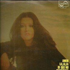 Discos de vinilo: MASSIEL LP SELLO ZAFIRO AÑO 1972 EUROVISION 68. Lote 40733533