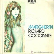 Discos de vinilo: RICHARD COCCIANTE SINGLE SELLO RCA VICTOR AÑO 1976 CARA B: PRIMAVERA.. Lote 40733611