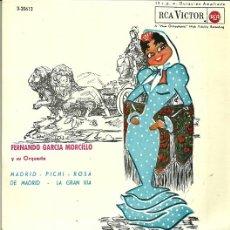 Discos de vinilo: FERNANDO GARCIA MORCILLO EP SELLO RCA VICTOR AÑO 1963. Lote 40733667