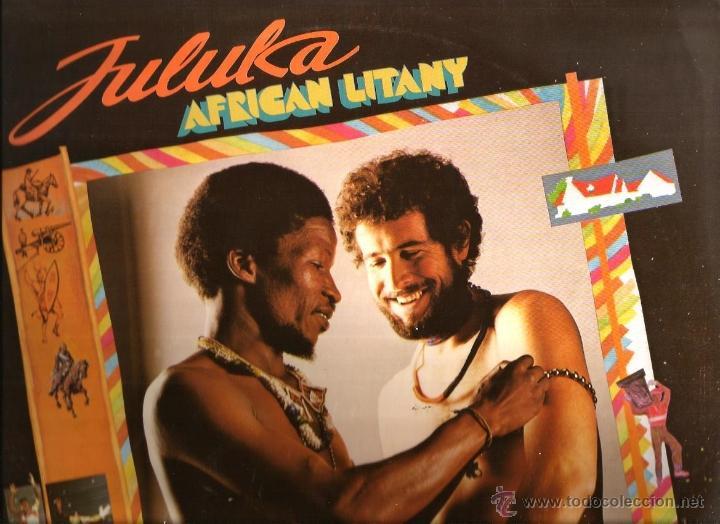 LP JULUKA : AFRICAN LITANY (Música - Discos - LP Vinilo - Funk, Soul y Black Music)