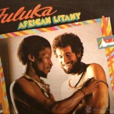 Discos de vinilo: LP JULUKA : AFRICAN LITANY. Lote 40737050