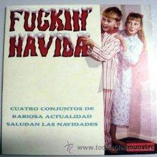 Discos de vinilo: FUCKIN' NAVIDA MUNSTER RECORDS - PIOLINES KENNY HARPERS SOLEX ULAN BATOR TRIO. Lote 40737261