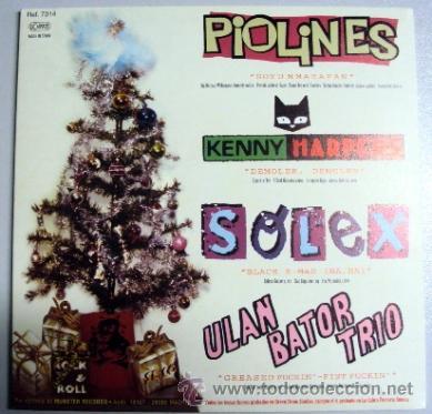 Discos de vinilo: FUCKIN' NAVIDA munster records - piolines KENNY HARPERS solex ULAN BATOR TRIO - Foto 2 - 40737261