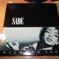 Discos de vinilo: SADE. DIAMOND LIFE. Lote 40742174