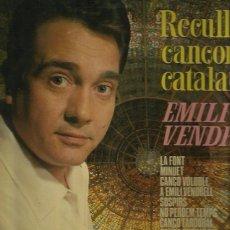Discos de vinilo: EMILI VENDRELL LP SELLO BELTER AÑO 1968. Lote 40745580