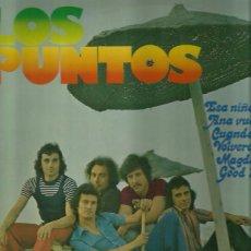 Discos de vinilo: LOS PUNTOS LP SELLO POLYDOR AÑO 1974. Lote 40745651