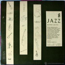 Discos de vinilo: JAZZ 8 - BIG BANDS 1924-1934 - LP - FOLK WAYS RECORDS ORIGINAL USA 1953 - VINILO EXTRAGRUESO. Lote 40747200