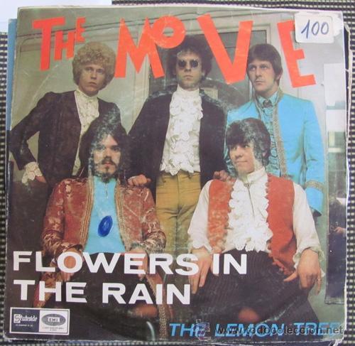 THE MOVE - FLOWERS IN THE RAIN - SINGLE ESPAÑOL 1967 (Música - Discos - Singles Vinilo - Pop - Rock Extranjero de los 50 y 60)