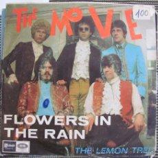 Discos de vinilo: THE MOVE - FLOWERS IN THE RAIN - SINGLE ESPAÑOL 1967. Lote 40749009