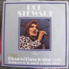 Disques de vinyle: ROD STEWART - (I KNOW) I'M LOSING YOU - SINGLE 1971. Lote 40749735