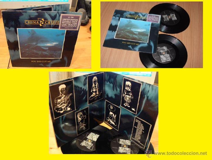 CHINA CRISIS / YOU DID CUT ME + 3 TEMAS LIVE 1985 ( RARO DOBLE SINGLE, ORG EDT UK !! EXC (Música - Discos de Vinilo - Singles - Pop - Rock Extranjero de los 80)