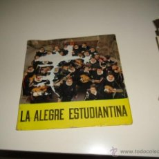 Disques de vinyle: LA ALEGRE ESTUDIANTINA TUNAS DE BARCELONA (PERITOS, MEDICINA...) 1961 LP VINILO. Lote 40752633