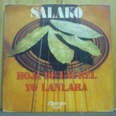 Discos de vinilo: SALAKO - HOJA DE LAUREL / YO LANLARA - SINGLE OLYMPO - S-34 - ESPAÑA 1974 - SF2. Lote 40752783
