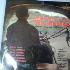 Discos de vinilo: MAGNIFICO LP DE LA FAMA DEL TARTANERO -COROS CANTORES DE LAN GRAN ORQUESTA DE MADRID-. Lote 40753517
