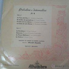 Discos de vinilo: MAGNIFICO LP DE PRELUDIOS E INTERMEDIOS Nº 2 -ORQUESTA CAMARA DE MADRID-. Lote 40753879