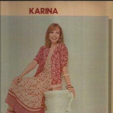 Discos de vinilo: KARINA LP SELLO HISPSVOX AÑO 1978. Lote 40757539