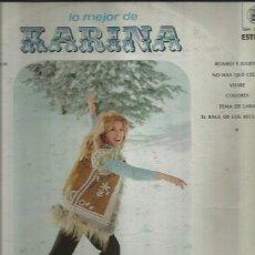 Discos de vinilo: KARINA LP SELLO HISPAVOX EDITADO EN MEXICO. Lote 40757633