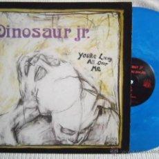 Discos de vinilo: DINOSAUR JR. - '' YOU'RE LIVING ALL OVER ME '' - LP LIMITED EDITION VINYL BLUE. Lote 40758176