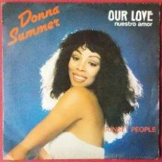 Discos de vinilo: DONNA SUMMER - OUR LOVE - 1979 CASABLANCA RECORD & FILMWORKS. Lote 40760361
