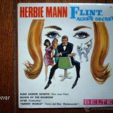 Discos de vinilo: HERBIE MANN - FLINT AGENTE SECRETO + 3. Lote 40766928