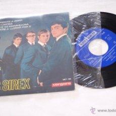 Discos de vinilo: LOS SIREX 7´EP ENSEÑANDOTE A AMAR + 3 TEMAS (1965). Lote 40772416