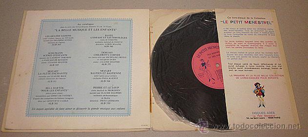 Discos de vinilo: Le Petit Ménestrel. Des Rondes et des Chansons. Libro-disco Francia. - Foto 3 - 40772804