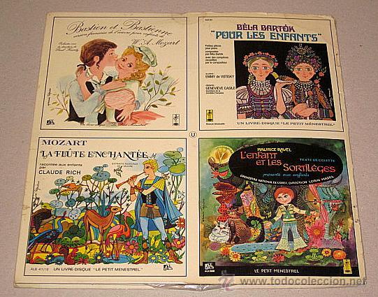 Discos de vinilo: Le Petit Ménestrel. Des Rondes et des Chansons. Libro-disco Francia. - Foto 4 - 40772804