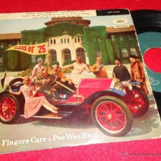 Discos de vinilo: JOE FINGERS CARR & PEE WEE HUNT MINNIE THE MERMAID/LOUISVIELLE LOU +2 7 EP 1958 SPAIN ESPAÑA. Lote 40774582