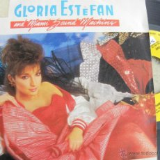 Discos de vinilo: GLORIA ESTEFAN AND MIAMI SOUND MACHINE -SINGLE PROMO 1985 -GRABADO POR UNA SOLA CARA - B.ESTADO. Lote 40740279