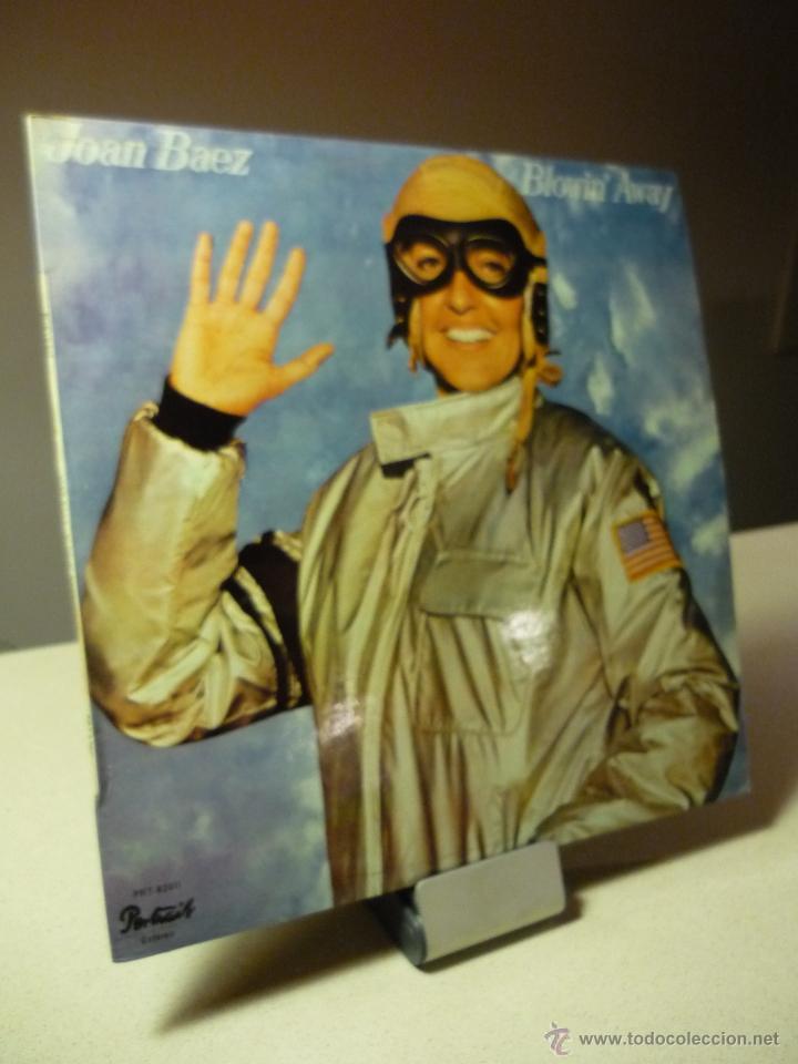 JOAN BAEZ BLOWIN' AWAY LP (Música - Discos - LP Vinilo - Cantautores Extranjeros)