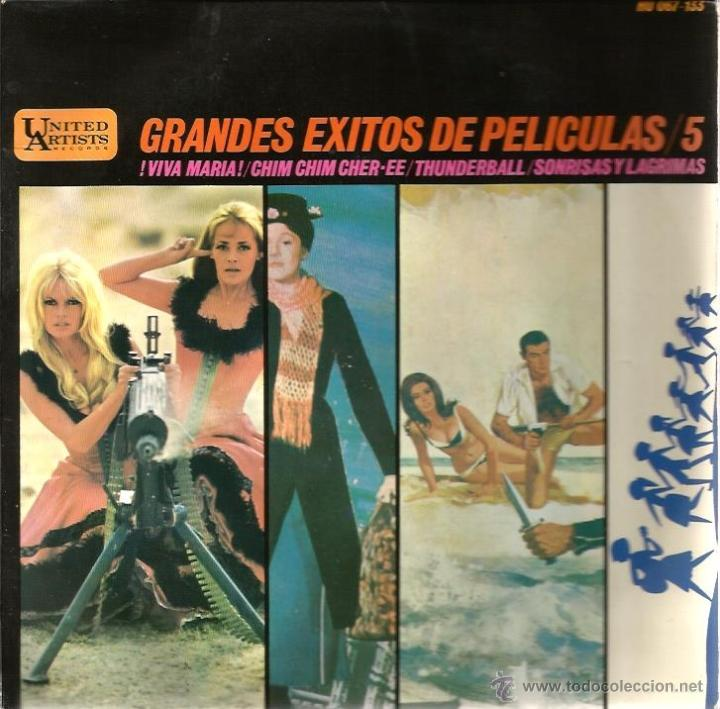 Discos de vinilo: LOTE 6 EP´S BANDAS SONORAS: JAMES BOND 007, BEATLES, LA PANTERA ROSA, MONDO CANE, MARY POPPINS,ETC - Foto 3 - 40781549