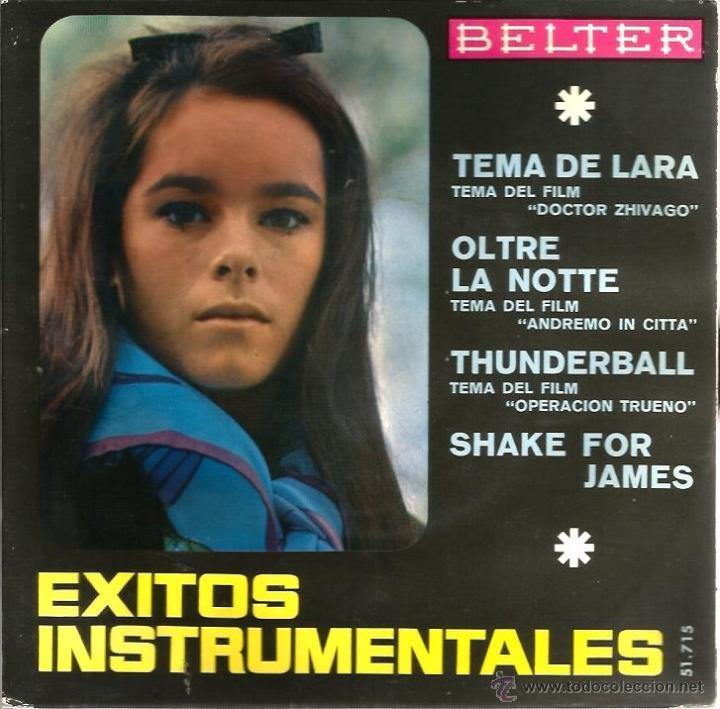 Discos de vinilo: LOTE 6 EP´S BANDAS SONORAS: JAMES BOND 007, BEATLES, LA PANTERA ROSA, MONDO CANE, MARY POPPINS,ETC - Foto 5 - 40781549