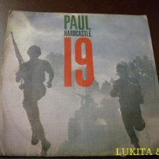 Discos de vinilo: PAUL HARDCASTLE - SINGLE 19 - CHRYSALIS 1985. Lote 40782257