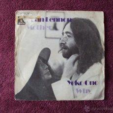 Discos de vinilo: JOHN LENNON, MOTHER (EMI ODEON 1971) SINGLE PROMOCIONAL ESPAÑA - THE BEATLES. Lote 40784455