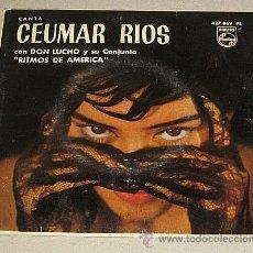 Discos de vinilo: CEUMAR RIOS CON DON LUCHO Y SU CONJUNTO. RITMOS DE AMÉRICA. EP.. Lote 40793431