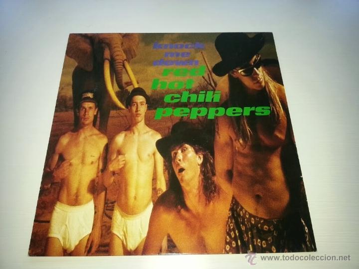 RED HOT CHILI PEPPERS - KNOCK ME DOWN - MAXI 12 PULG - EMI - VINILOVINTAGE (Música - Discos de Vinilo - Maxi Singles - Pop - Rock - New Wave Extranjero de los 80)