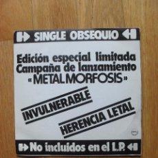 Discos de vinilo: SINGLE BARON ROJO EDICION ESPECIAL LIMITADA. Lote 40800401