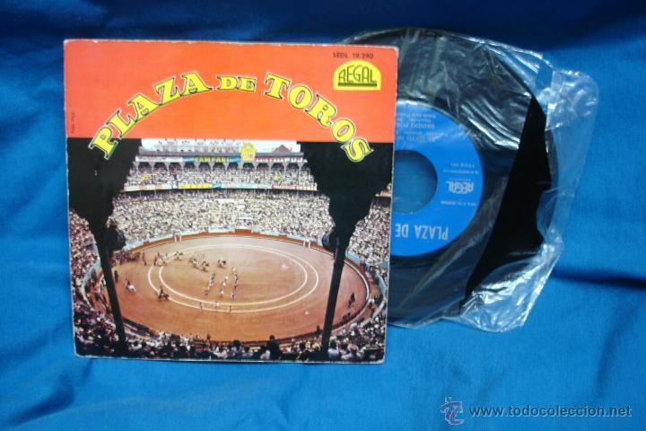 - PLAZA DE TOROS - EL GATO MONTES + 3 - REGAL 1962 - VER FOTOS (Música - Discos de Vinilo - EPs - Bandas Sonoras y Actores)