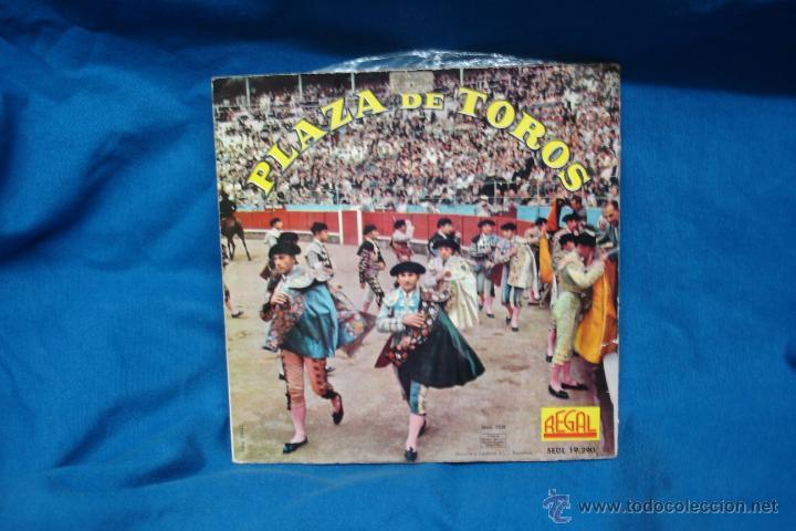 Discos de vinilo: - PLAZA DE TOROS - EL GATO MONTES + 3 - REGAL 1962 - VER FOTOS - Foto 2 - 40801268