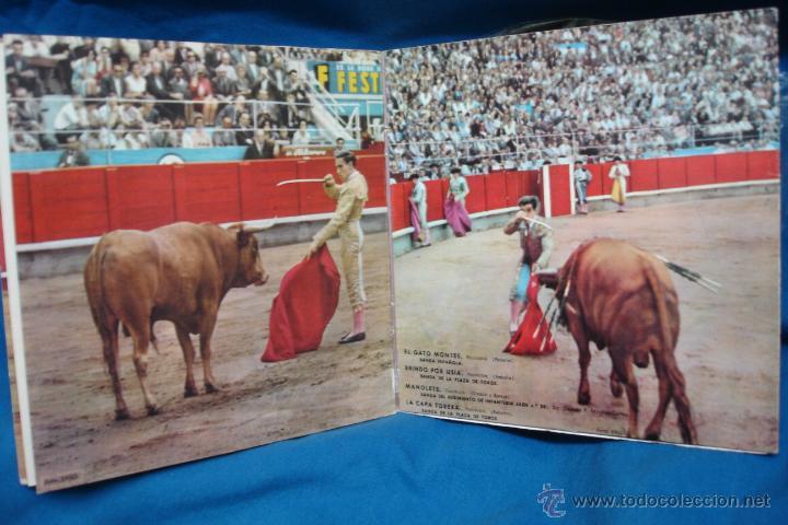 Discos de vinilo: - PLAZA DE TOROS - EL GATO MONTES + 3 - REGAL 1962 - VER FOTOS - Foto 3 - 40801268