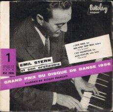 Discos de vinilo: EMIL STERN ET SON ORCHESTRE - PRIX DISQUE DE DANSE 1956 - BCGE 28006 - BARCLAY. Lote 40803379