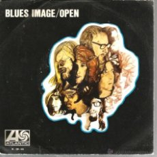 Discos de vinilo: SINGLE BLUES IMAGE : OPEN. Lote 40803428