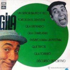 Dischi in vinile: GILA - UN SEÑOR BAJITO Y FEO . LP . 1972 REGAL 1 J040-20.798. Lote 40805356